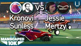 Manscaped 10K   ep.5   Kronovi & SunlessKhan vs Jessie & Mertzy   Rocket League 2v2 Tournament