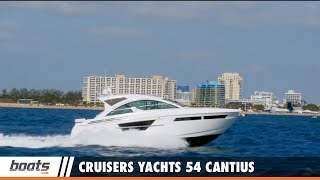 Cruisers Yachts 54 Cantius: Video Boat Review