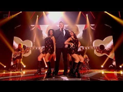 James Arthur sings Marvin Gaye's Let's Get It On - The Final- The X Factor UK 2012