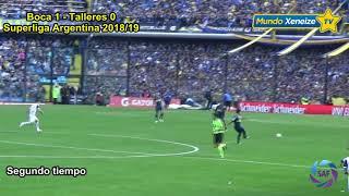Boca 1- Talleres Cba 0 / Superliga Argentina 2018/19