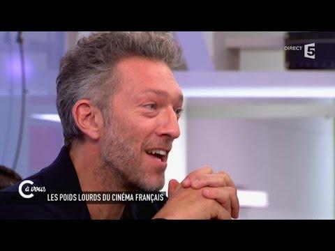Vincent Cassel et François Cluzet sur le métier d'acteur  C à vous  18062015