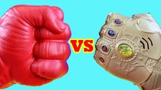 Thanos Family Vs Red Hulk ! Mega Battle ! Superhero Toys