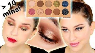 3 EASY QUICK EYE LOOKS | FRIENDCATION PALETTE DESI X KATY | Beauty Banter
