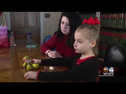 Little girl who saw Townville Elementary School shooting speaks out