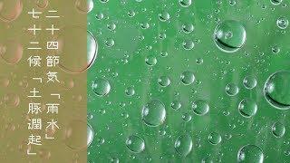 【お天気雑学】二十四節気『雨水』・七十二候『土脉潤起』