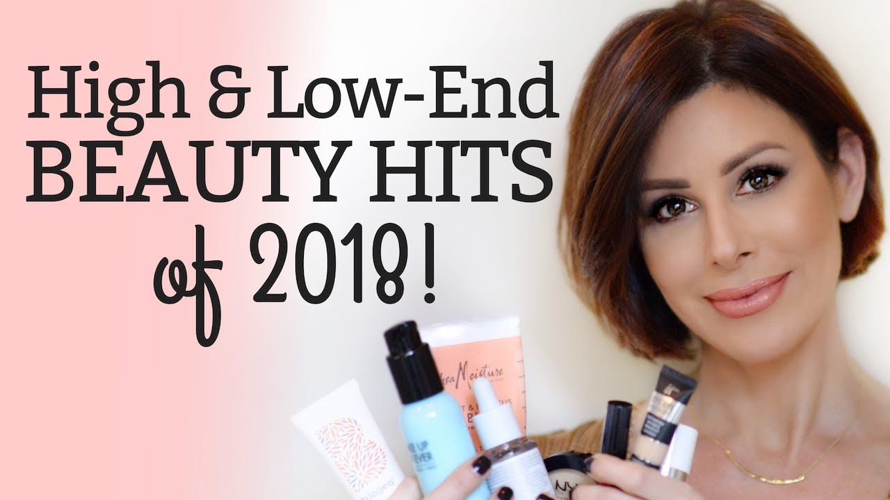Best Beauty Hits Of 2018 High Low End Dominique Sachse