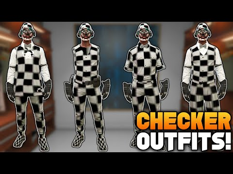 GTA 5 ONLINE HOW TO GET MULTIPLE CHECKERBOARD MODDED OUTFITS ALL AT ONCE! (Clothing Glitches 1.50)