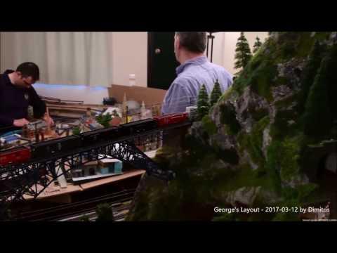 Full HD George's Maerklin layout  2017-03-12