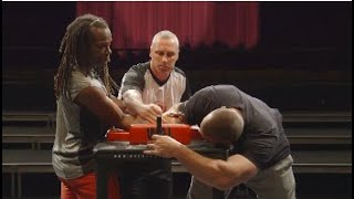Arm Wrestling Basics - H๐w To Pin Your Opponent