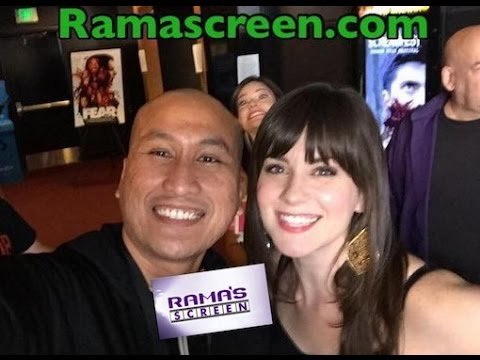 SCREAMFEST Red Carpet  With Katie Featherston