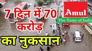 Gujarat Flood से Amul Dairy को हुआ भारी नुकसान, बढ़ सकती है Milk की किल्लत