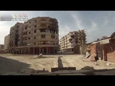 "ᴴᴰ Syrian Army Operations 18+** ** ""Tank Destroying Militant firing position"""