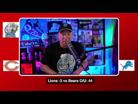 Chicago Bears vs Detroit Lions NFL Pick and Prediction 9/13/20 Week 1 NFL Betting Tips
