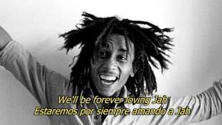 Forever Loving Jah - Bob Marley (LYRICS/LETRA) (Reggae)