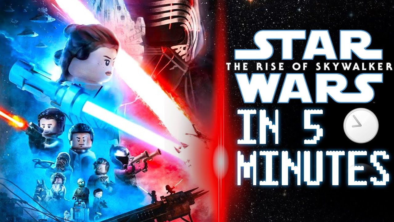 Star Wars The Rise Of Skywalker In 5 Minutes Lego Stop Motion Youtube