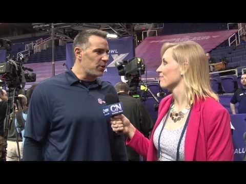 Kurt Warner talks Hall of Fame candidacy and more at Super Bowl XLIX Media Day