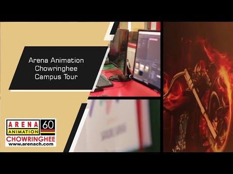 Arena Animation Chowringhee - Campus Tour | Best Animation & VFX Institute In Kolkata