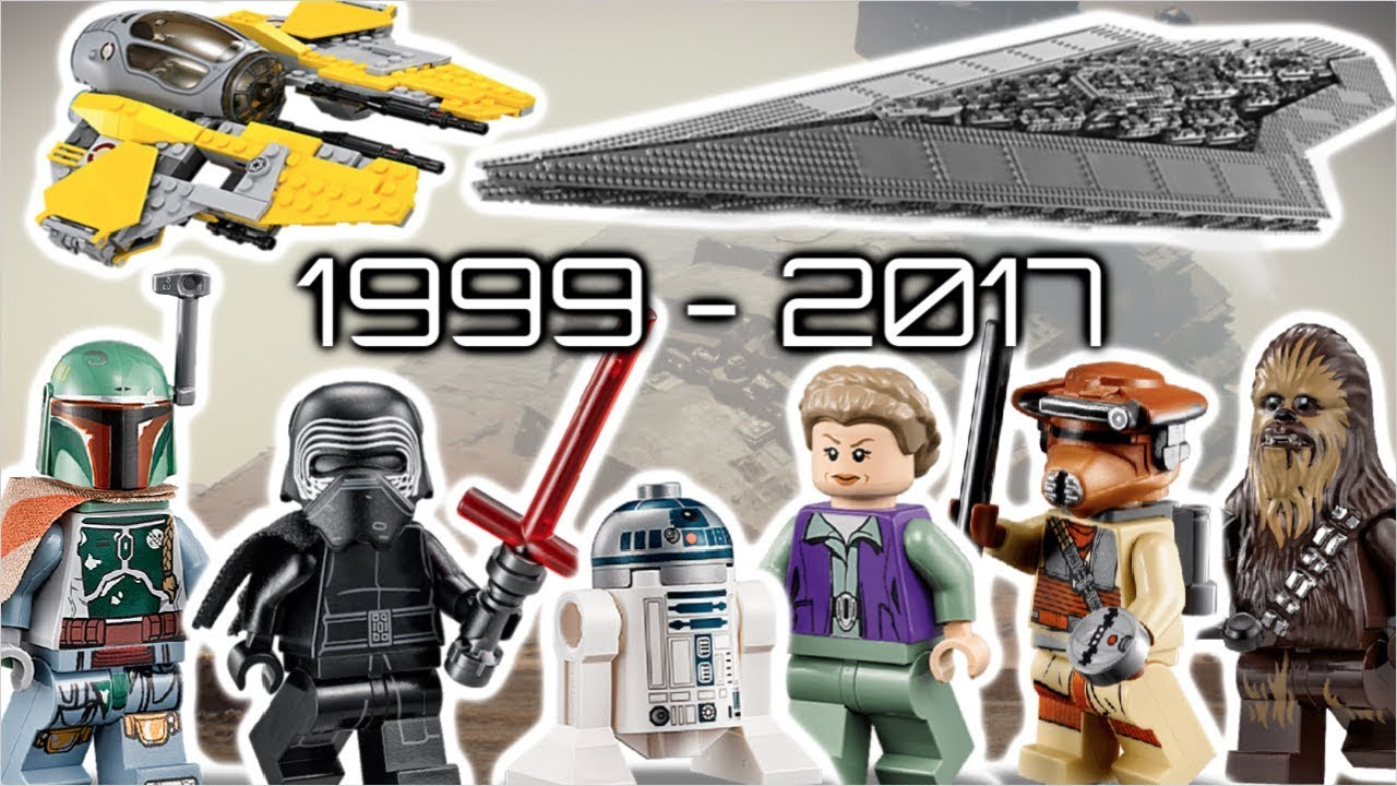 LEGO STAR WARS | 1999-2017 - YouTube