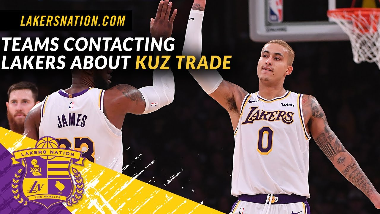 Kyle Kuzma on Lakers Trade Rumors: 'You Can't Control It. ... It Don't ...