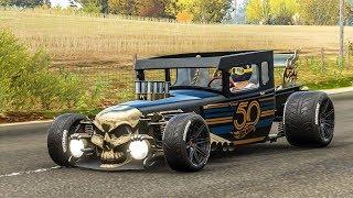 รถหัวกระโหลกซิ่ง Bone Shaker - Forza Horizon 4