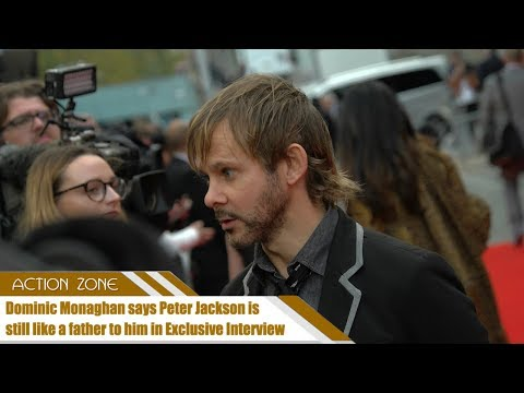 Dominic Monaghan says Peter Jackson is still like a father to him in Exclusive