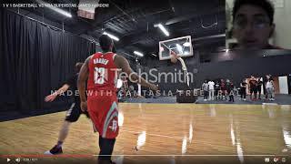 vuclip Reacting to JesserTheLazzer vs James Harden 1v1 Basketball game