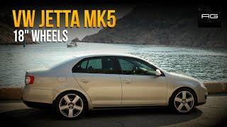 Jetta 5 на дисках Audi RS6. Не едет, зато на стиле