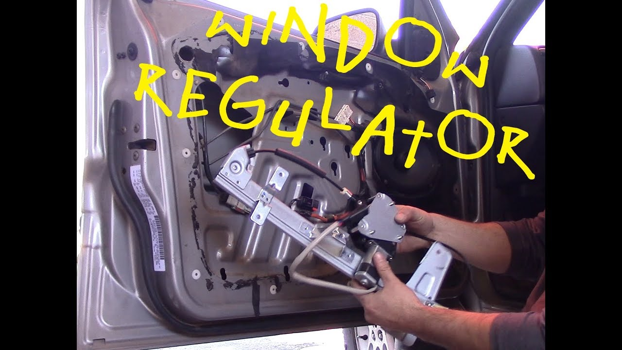 1999 2004 Jeep Grand Cherokee Window Regulator Youtube