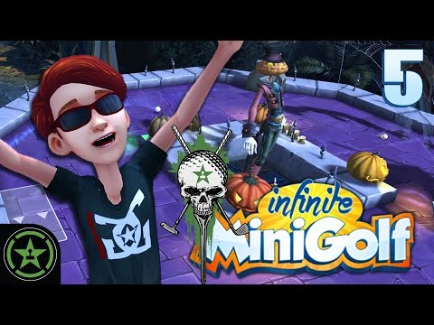 Fore Honor - Infinite Minigolf - Halloween Mansion (#5)
