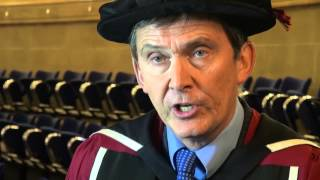 Voluntary sector champion is awarded an honorary doctorate