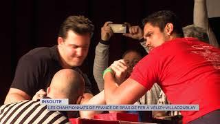 Insolite : championnat de France de bras-de-fer à Vélizy