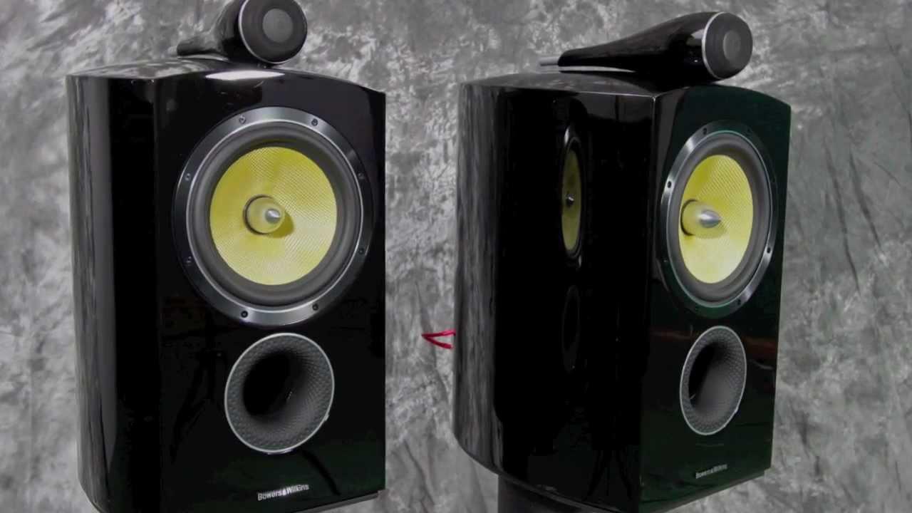 Stereo Design B U0026w Bowers  U0026 Wilkins Diamond 805 Speakers In