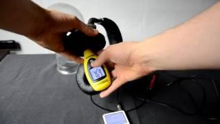 Acme CD–850 headphones SPL dB sound test + quick mic test