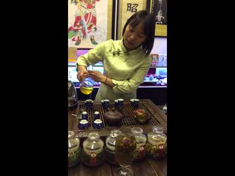 Chinese Tea Ceremony at Wen Miao Confucius Temple