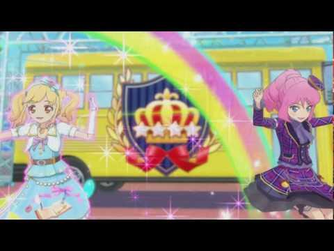 (HD) Aikatsu Stars - Episode 29 - Yume & Laura - 1, 2, Sing for you! -