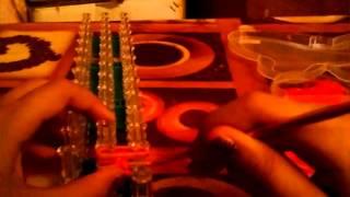 Видео урок на браслет волна, придумала сама:)
