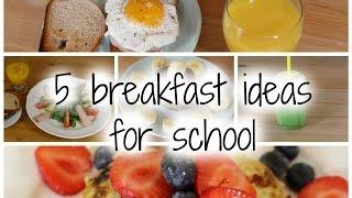 5 công thức cho bữa sáng đi học - 5 breakfast ideas for school ♡Truc's hobbies♡