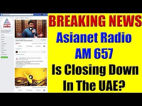 BREAKING NEWS: Asianet Radio AM 657 Closing Down In The UAE?