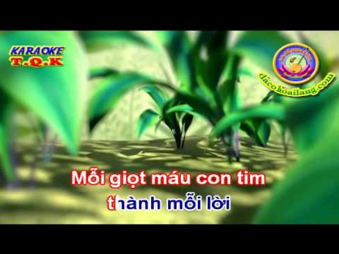dacohoailang.com - Karaoke : Lời người hát rong