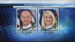 IDA-2 Installation: International Space Station U.S. EVA 36 (time lapse)