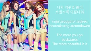 Rewind- Wonder Girls lyrics [HAN, ROM, ENG]