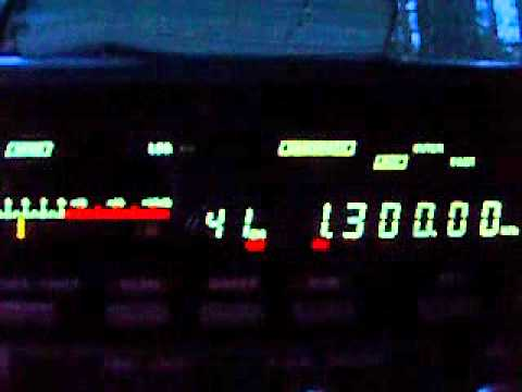 1.300 YVNS Radio Reloj 1300, Maracaibo, Zulia, Venezuela ID at 0:38 min 05:00-05:01 UTC 20.10.2013