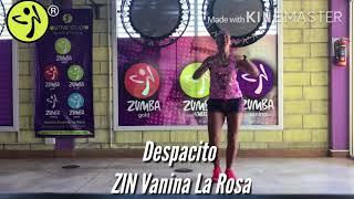 DESPACITO - LUIS FONSI (VERSIÓN SALSA) | Zumba ® Fitness Choreography  - Vanina La Rosa