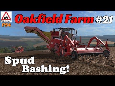 Oakfield Farm, Ep 21 (Spud Bashing!). Farming Simulator 17 PS4, Let's Play.