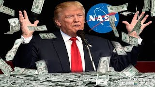 "President TRUMP is UPSET with NASA! ""Why Can"