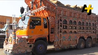 Truck Art: A Matter Of Pride For Pakistani Drivers