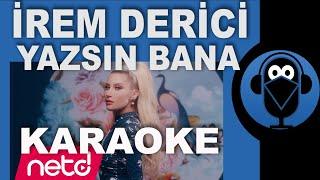 İrem Derici - Yazsın Bana / KARAOKE / Sözleri / Lyrics / ( Cover )