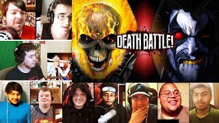Ghost Rider VS Lobo (Marvel VS DC)  DEATH BATTLE REACTIONS MASHUP