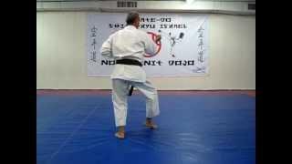 pinan yondan- karate kata - פינאן יונדאן