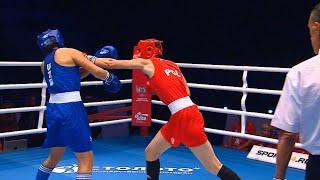 R16 (W69kg) KOSZEWSKA Karolina (POL) vs YUNUSOVA Shakhnoza (UZB) /AIBA WWCHs Ulan Ude 2019